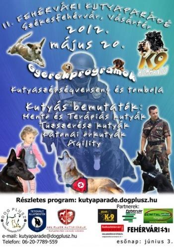 II. Fehérvári Kutyaparádé