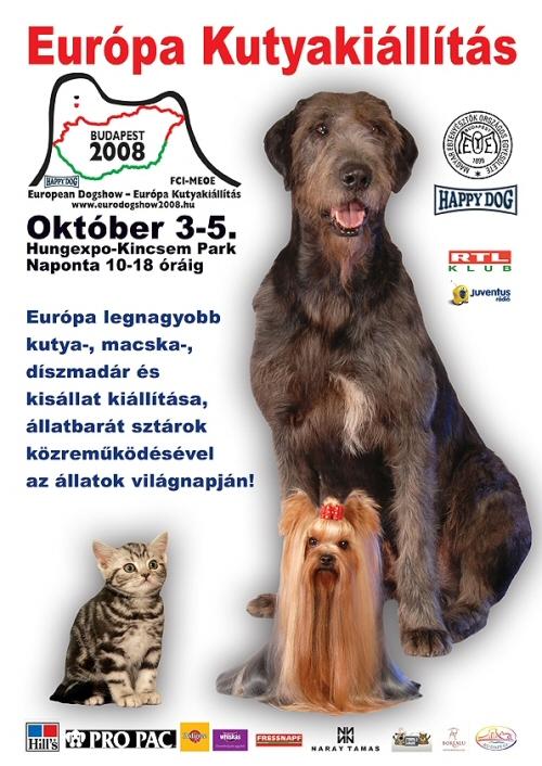 Európa Kutyakiállítás (2008. október 3-5.)