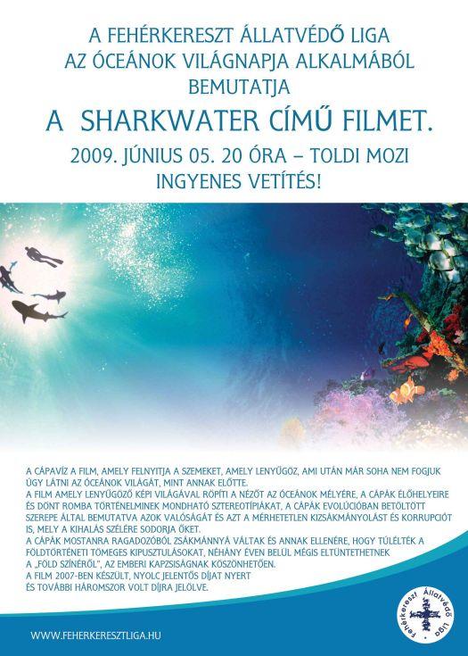 Filmvetítés a cápákról ma este!