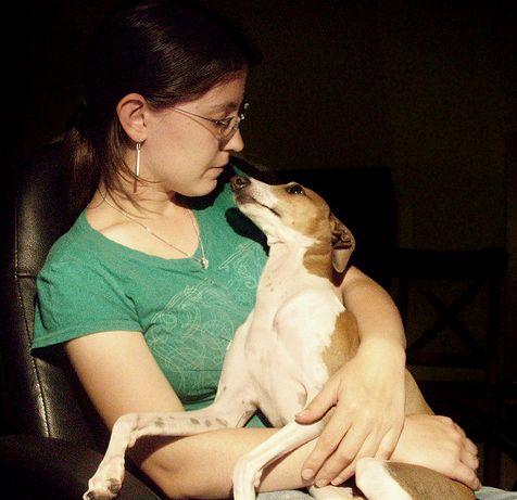 Kutya a gazdi ölében