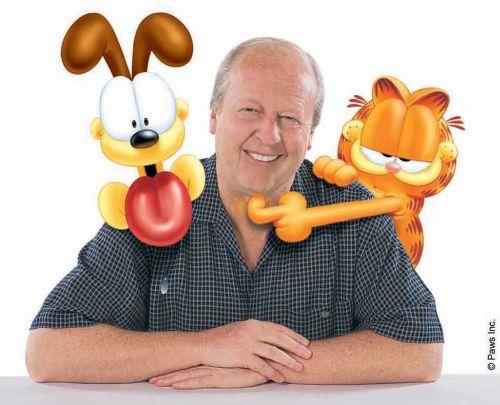 Jim Davis Garfielddal