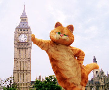 Garfield két lábon