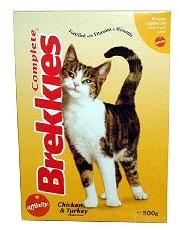 Brekkies macskaeledel
