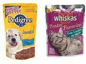 Pedigree és Whiskas