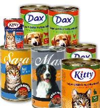 Dax és egyéb olcsó, sajátmárkás kutyaeledel, macskaeledel termékek