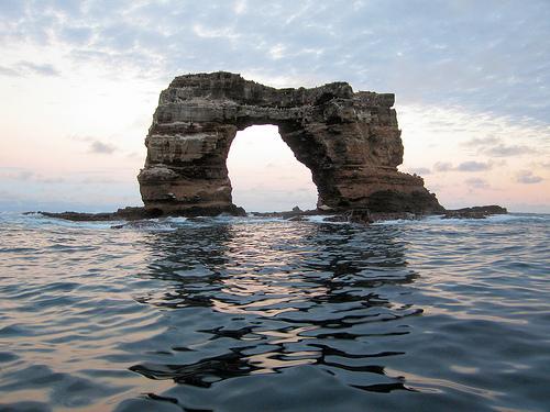 Galapagos Darwin sziklája