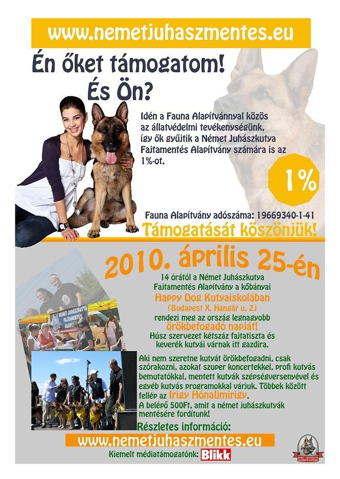 német juhász, kutya, örökbefogadás