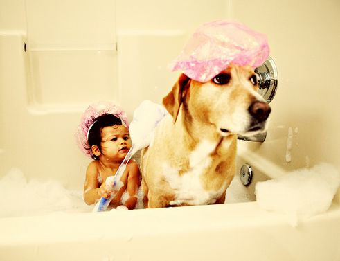 gyerek-kutyat-mos