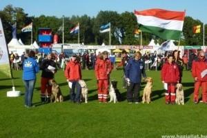 Mentőkutyás világbajnokság Hollandiában magyar sikerekkel