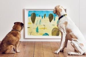 Kortárs kiállítás nyílt Londonban kutyáknak