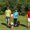 Kutyákkal edzettek a vízilabdások