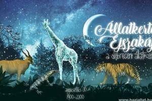 Augusztus 30-31.- Állatkertek éjszakája Pécsett és Debrecenben