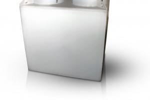 Műanyag tartályos hordalék- és zsírleválasztó berendezés