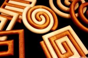 Fából készült különleges konyhai ajándékok: edényalátétek (x)