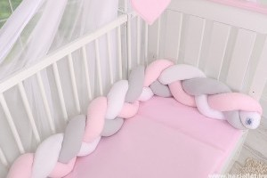 Fonott rácsvédő - így lesz biztonságos a babaágy (x)